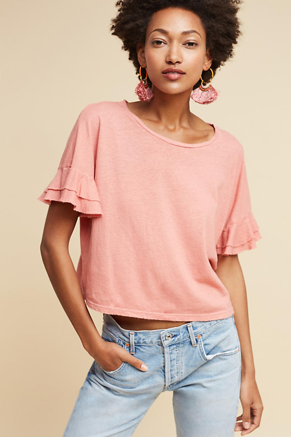 Anthro Blush Tee