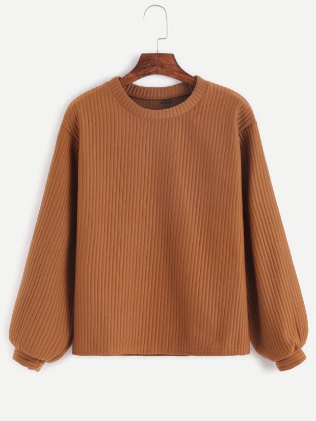 Camel Swweater