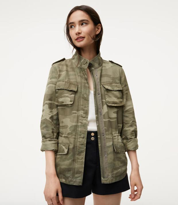 cargo camo jacket